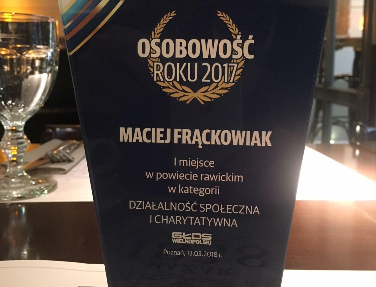 Nagroda Głosu Wielkopolskiego – Osobowość Roku 2017